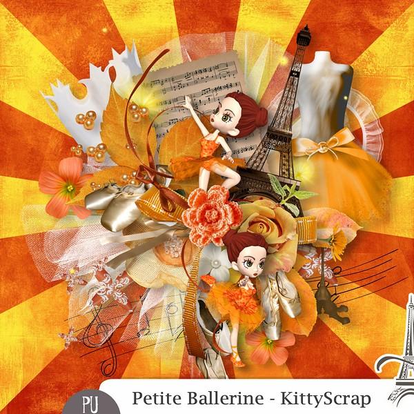 Petite ballerine de Kittyscrap dans Mai previe55