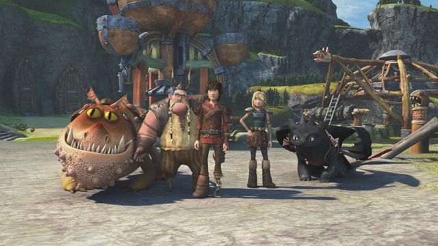 how to train your dragon tv series episodes
