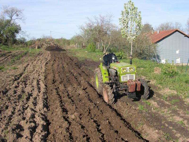 Labour au tracteur - Labourer la terre ...