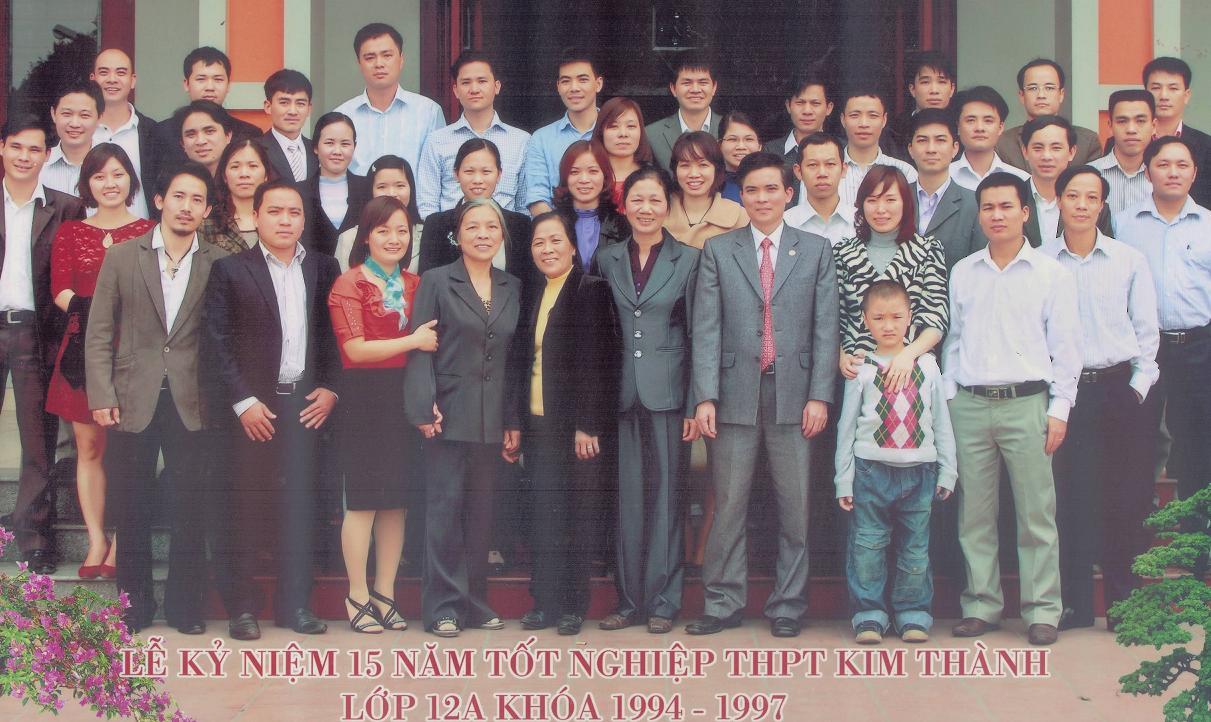 CỔNG THÔNG TIN ĐIỆN TỬ LỚP 12A KIM THÀNH ( NIÊN KHÓA 1994 - 1997)