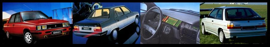 Renault 9 & Renault 11 ... Les plus 80's des voitures fran�aises !!!