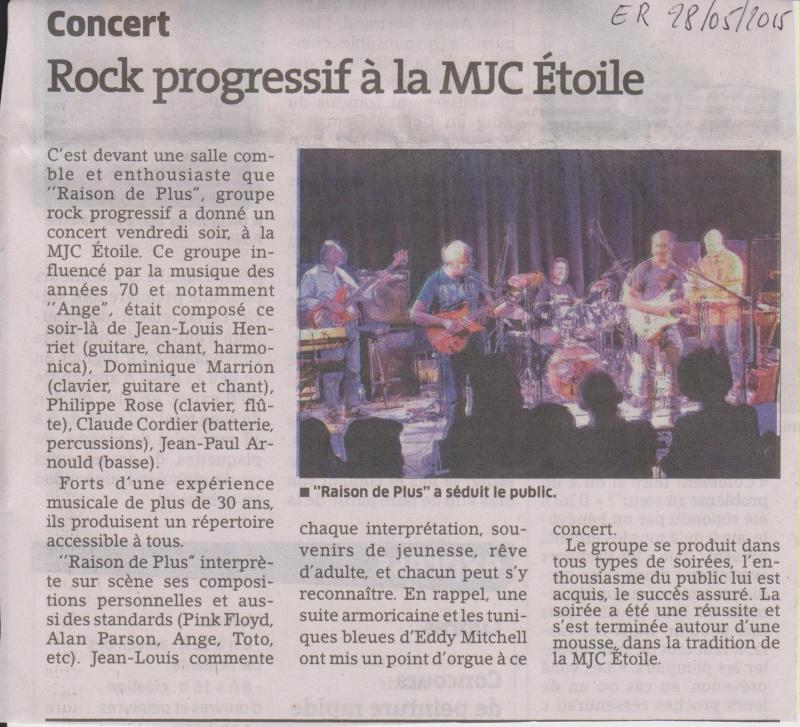 Article Est Républicain 28-05-2015