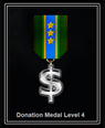 Donation Level Medal 4
