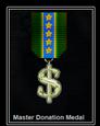 Master Donation Medal