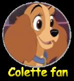 Colette fan