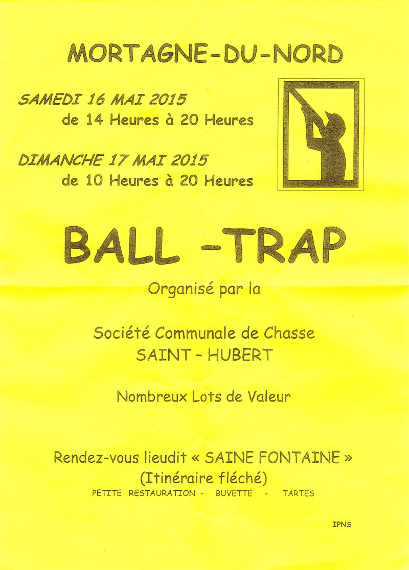 Ball trap mortagne du nord for Pro fenetre mortagne du nord