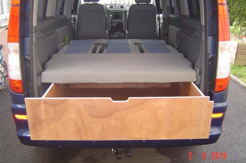 tiroir coulissant coffre arri re boites de rangement. Black Bedroom Furniture Sets. Home Design Ideas