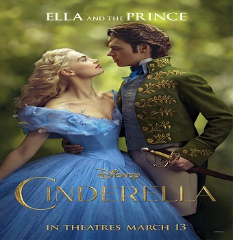 فيلم Cinderella 2015 مترجم ديفيدى
