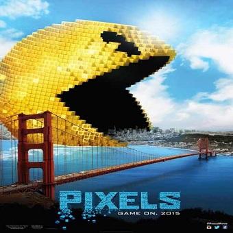 العرض الدعائى لفيلم Pixels 2015