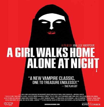 فيلم A Girl Walks Home Alone at Night 2014 مترجم HDRip 576p