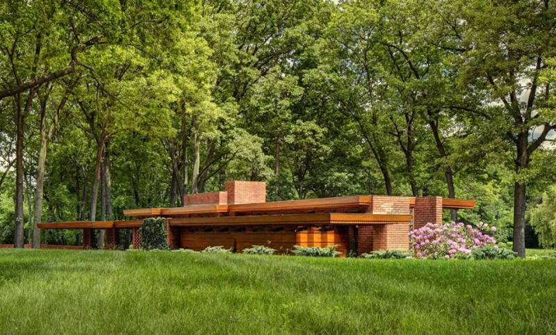 The Smith House - Frank Lloyd Wright - 1950 - Detroit (USA)