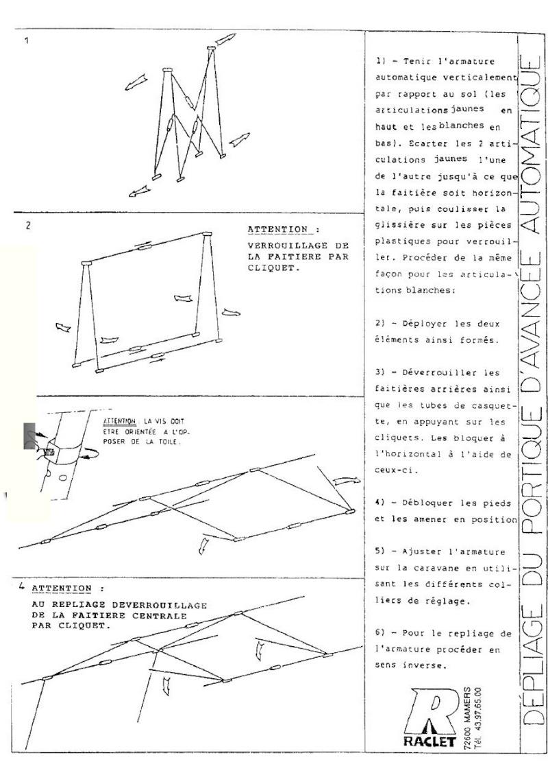 notice de montage de la jade raclet. Black Bedroom Furniture Sets. Home Design Ideas