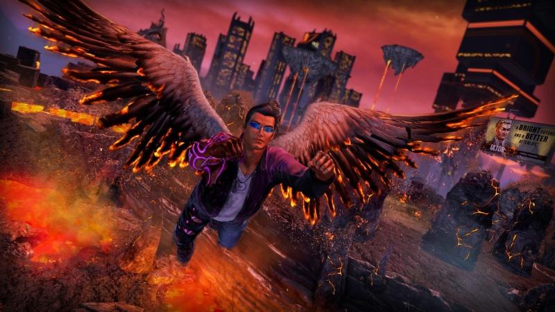 حصريا لعبة الاكشن الرائعة باصغر نسخ الريباك على الاطلاق Saints Row Gat out of Hell