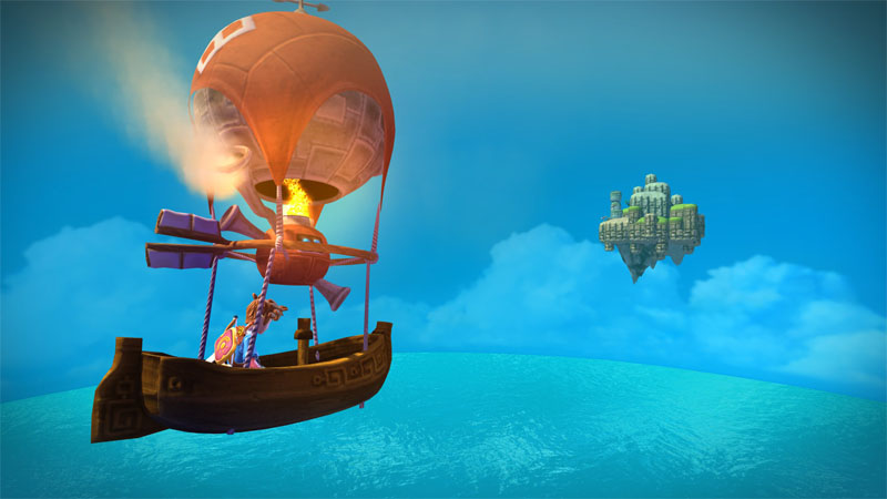 احدث العاب الاكشن والمغامرة المنتظرة Oceanhorn Monster of Uncharted Seas 2015 بنسخة ريباك