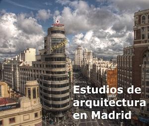 lista estudios de arquitectura de madrid