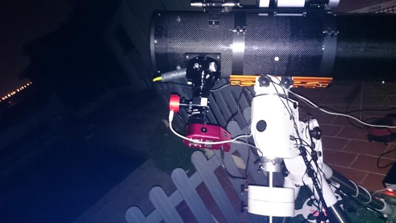Premiers spectres avec le spectro alpy for Miroir pour telescope