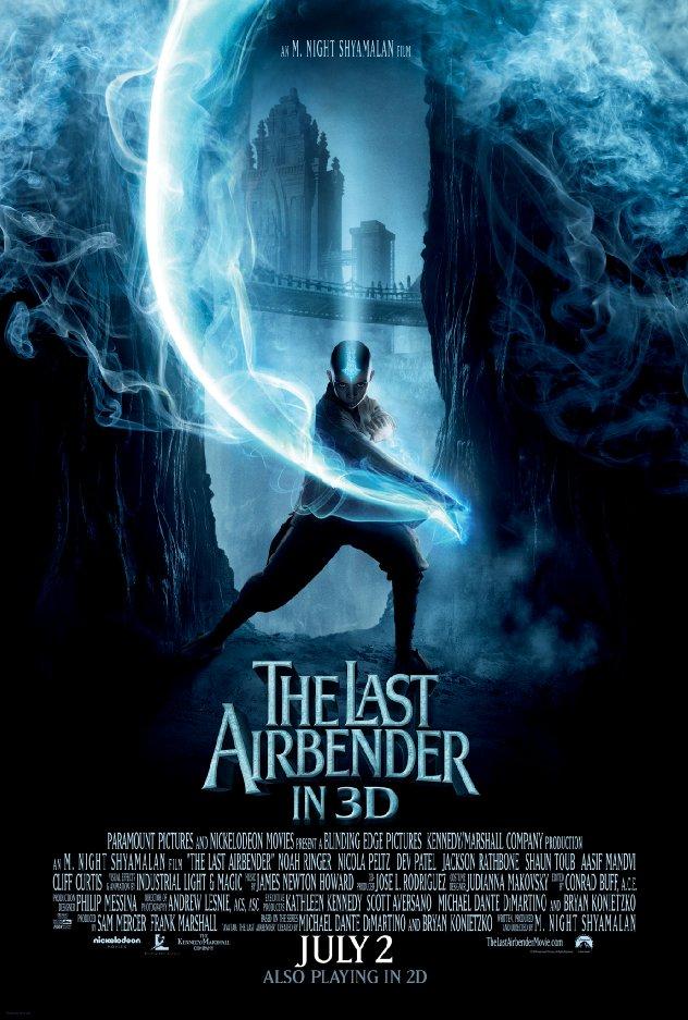 The Last Airbender, película basada en la serie avatar la leyenda de aang.