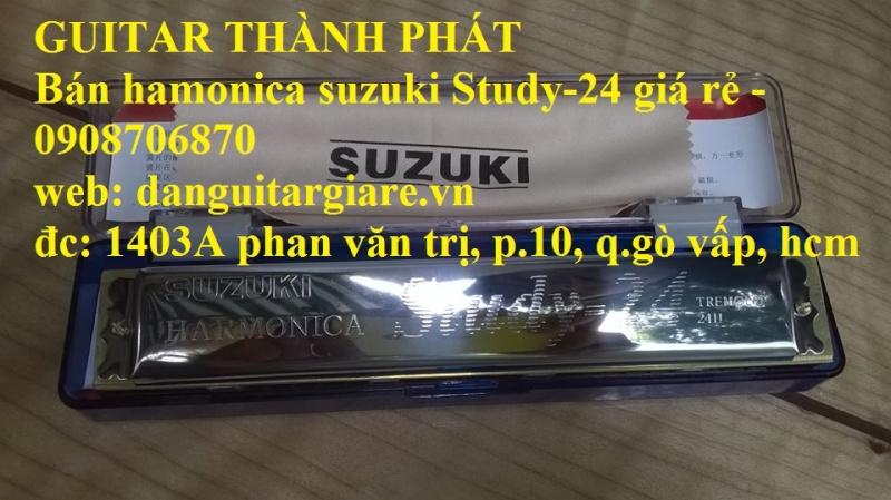 Kèn harmonica suzuki Study-24, winner 24 lỗ học sinh sinh viên giá rẻ gò vấp hcm - 2