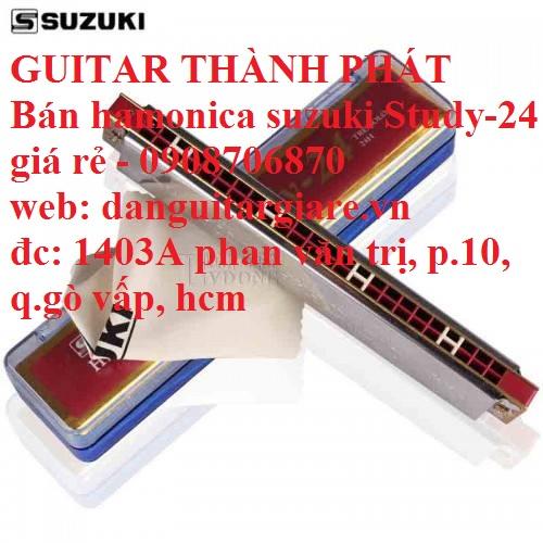 Kèn harmonica suzuki Study-24, winner 24 lỗ học sinh sinh viên giá rẻ gò vấp hcm - 4