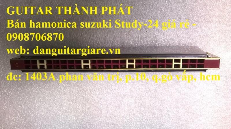 Kèn harmonica suzuki Study-24, winner 24 lỗ học sinh sinh viên giá rẻ gò vấp hcm - 5