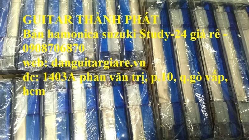 Kèn harmonica suzuki Study-24, winner 24 lỗ học sinh sinh viên giá rẻ gò vấp hcm - 7