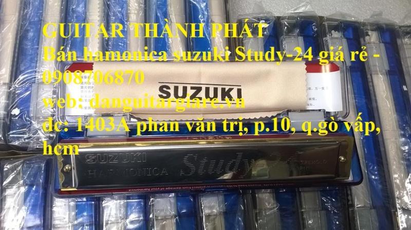 Kèn harmonica suzuki Study-24, winner 24 lỗ học sinh sinh viên giá rẻ gò vấp hcm - 8