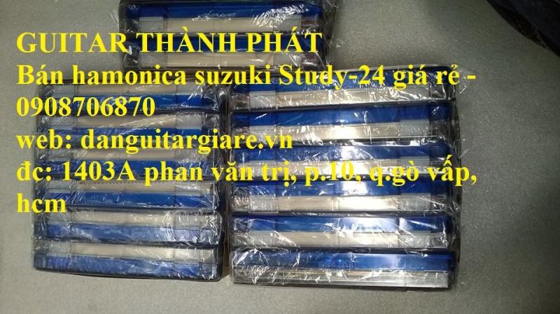Kèn harmonica suzuki Study-24, winner 24 lỗ học sinh sinh viên giá rẻ gò vấp hcm - 9