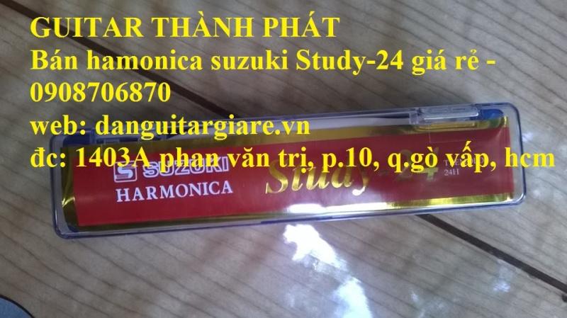 Kèn harmonica suzuki Study-24, winner 24 lỗ học sinh sinh viên giá rẻ gò vấp hcm - 10