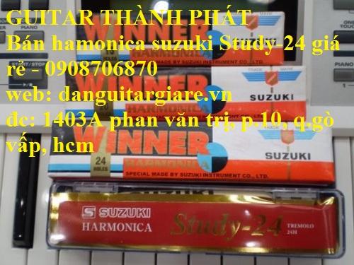 Kèn harmonica suzuki Study-24, winner 24 lỗ học sinh sinh viên giá rẻ gò vấp hcm - 20