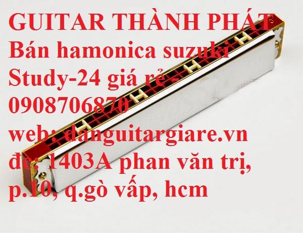 Kèn harmonica suzuki Study-24, winner 24 lỗ học sinh sinh viên giá rẻ gò vấp hcm - 12
