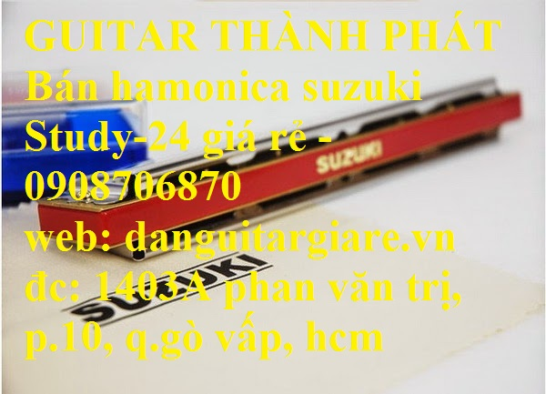Kèn harmonica suzuki Study-24, winner 24 lỗ học sinh sinh viên giá rẻ gò vấp hcm - 13