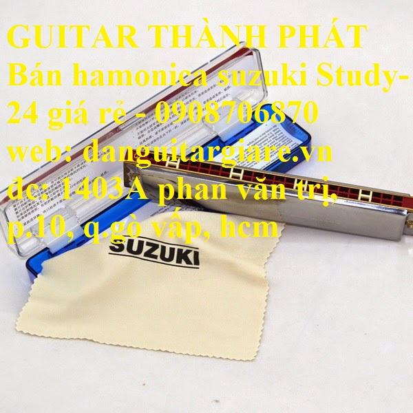 Kèn harmonica suzuki Study-24, winner 24 lỗ học sinh sinh viên giá rẻ gò vấp hcm - 14