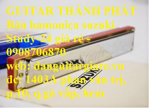 Kèn harmonica suzuki Study-24, winner 24 lỗ học sinh sinh viên giá rẻ gò vấp hcm - 15