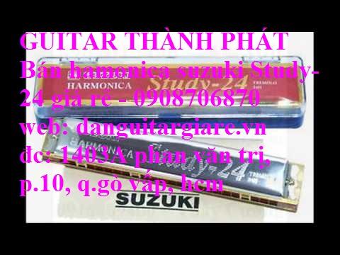 Kèn harmonica suzuki Study-24, winner 24 lỗ học sinh sinh viên giá rẻ gò vấp hcm - 16