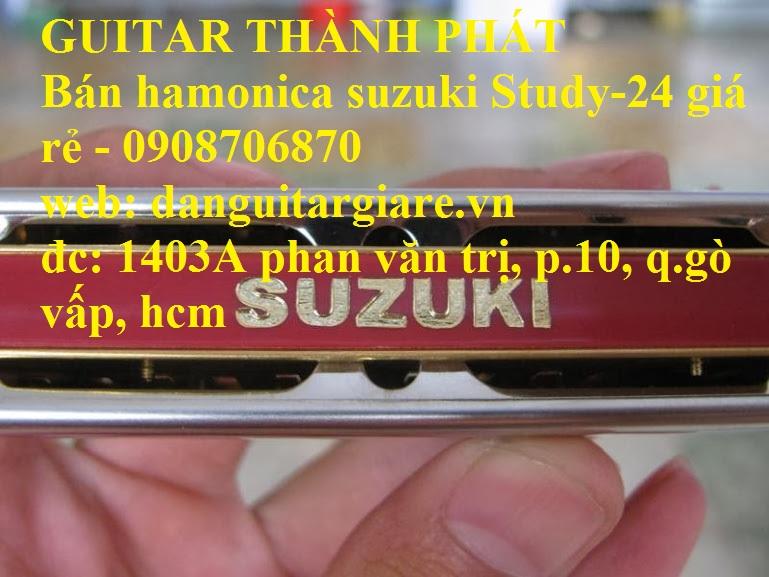 Kèn harmonica suzuki Study-24, winner 24 lỗ học sinh sinh viên giá rẻ gò vấp hcm - 17