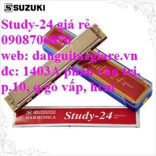 Kèn harmonica suzuki Study-24, winner 24 lỗ học sinh sinh viên giá rẻ gò vấp hcm - 18