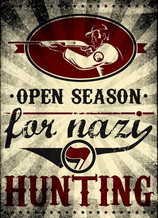 Saison ouverte pour la chasse aux nazis.