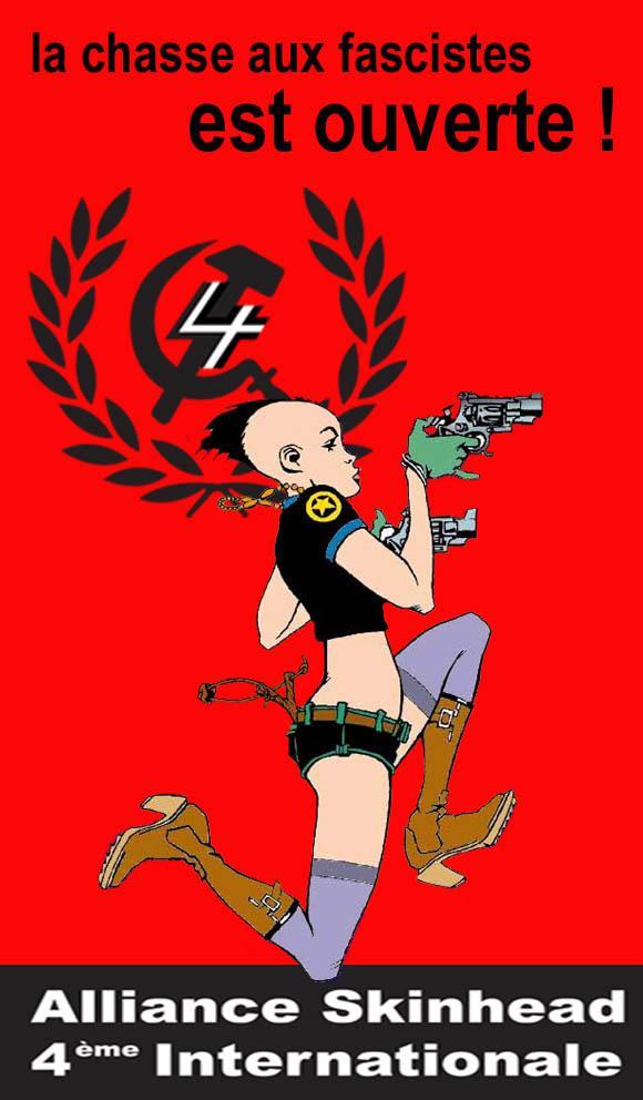 La chasse aux fascistes est ouverte !