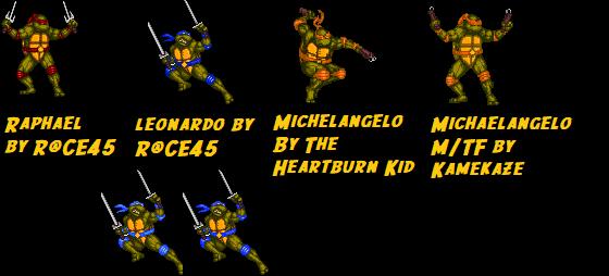 Teenage Mutant Ninja Turtles Dark - Downloads - The MUGEN ARCHIVE