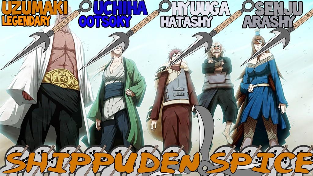Naruto Shipuden Spice