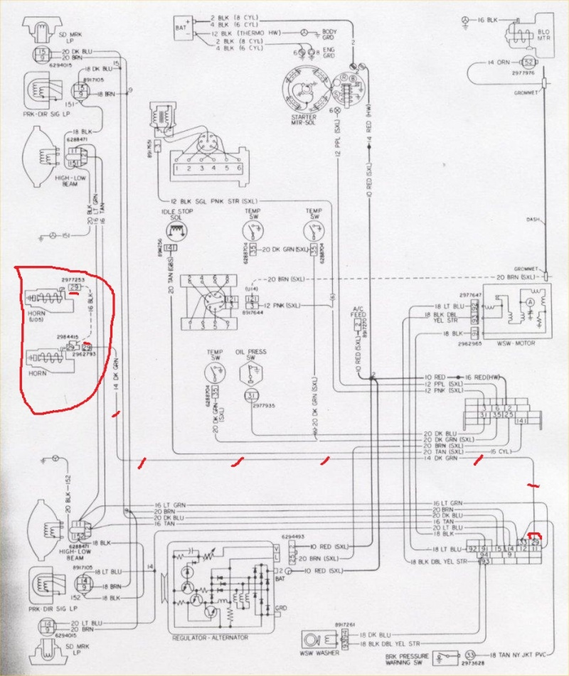 Diagram  67 Camaro Horn Relay Wiring Diagram Full Version