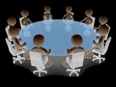 طاولة الحوار Discussion Table