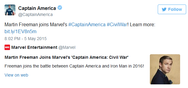 martin freeman captain america