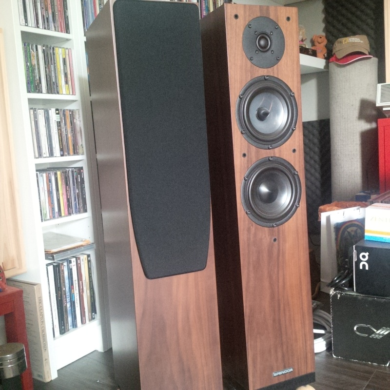 Spendor A5 Floorstanding Speakers Used Sold