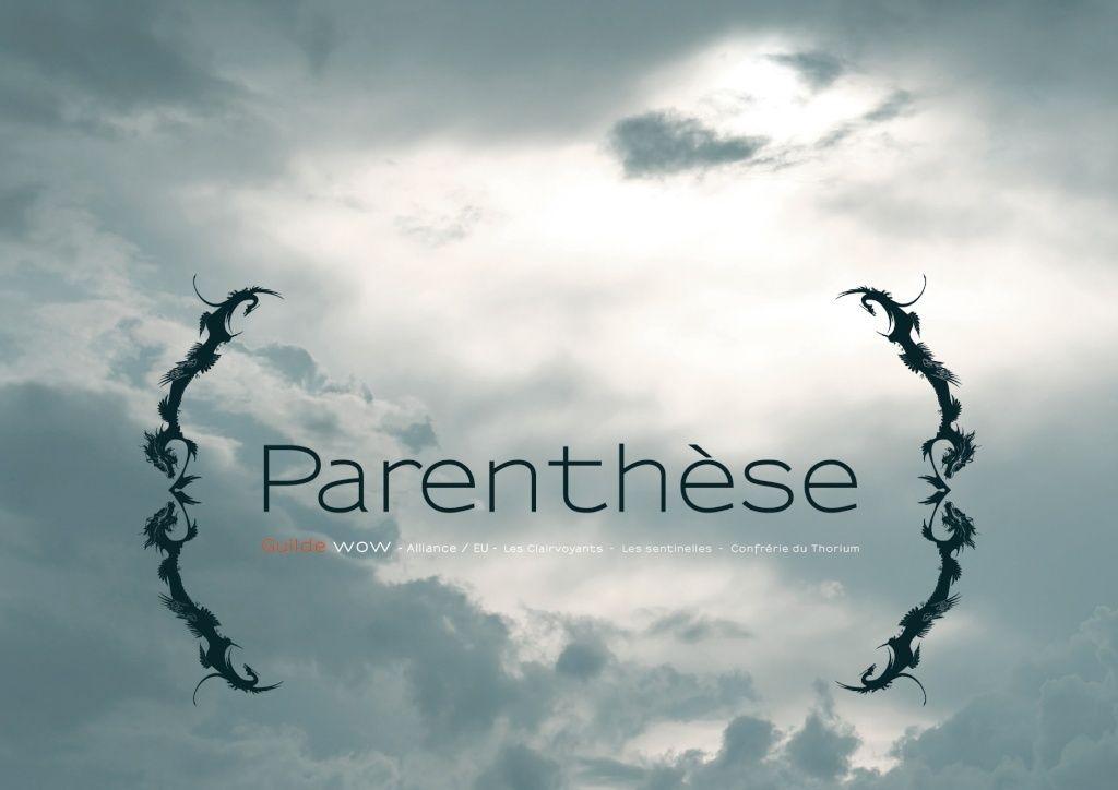 Guilde Parenthèse