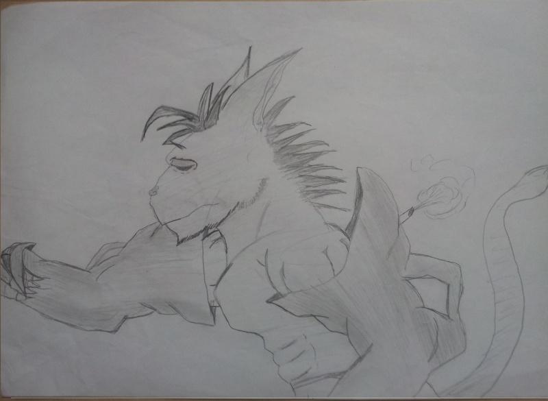 dessin monstre
