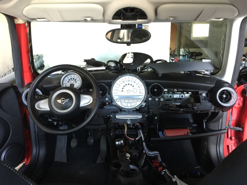 D pose console centrale mini r56 forums auto de motorlegend for Changer d interieur