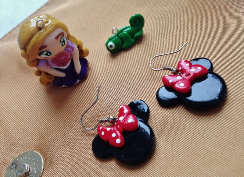 cr ations fimo mes cr ations disney en pate fimo. Black Bedroom Furniture Sets. Home Design Ideas