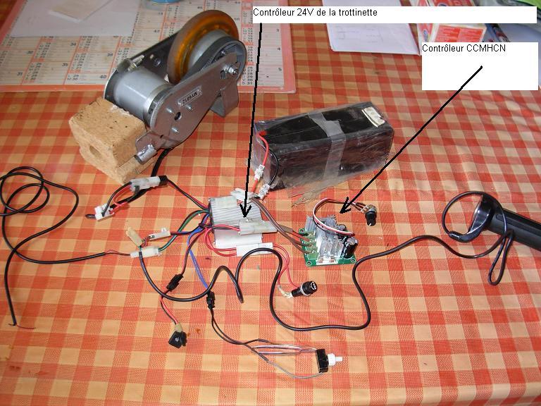 Controleur dc brush ccmhcn 5 - Controleur de consommation electrique ...