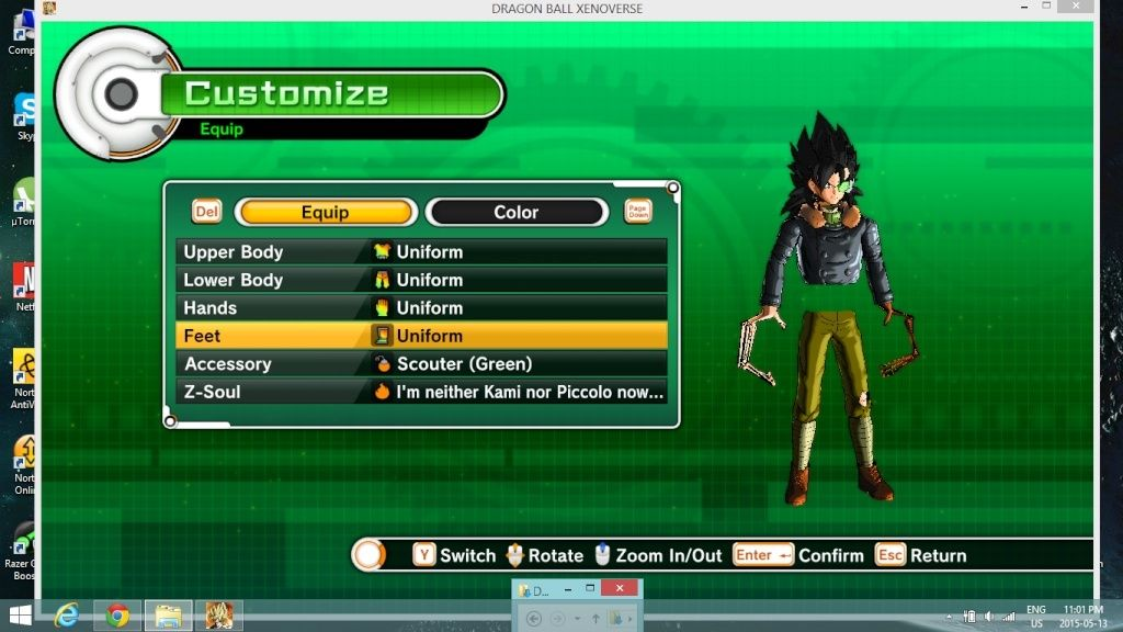 Trunks Outfit Xenoverse